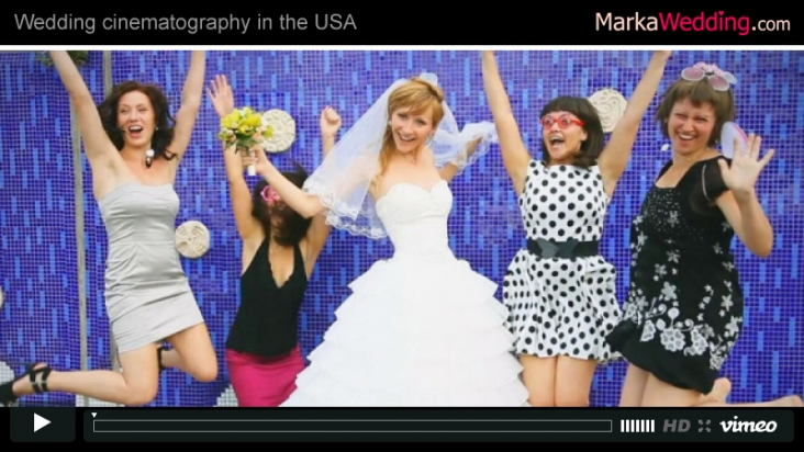 Vladimir & Natasha - Wedding clip | MarkaWedding.com