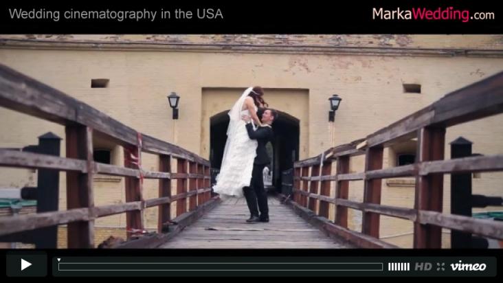 Denis & Nastia - Wedding video | MarkaWedding.com